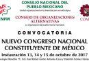 Convocatoria al Nuevo Congreso Nacional Constituyente de México