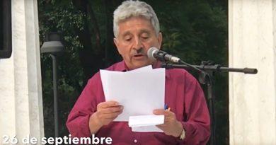 Mitin realizado por el CNPM en el marco del día Nacional de los Desaparecidos (Video)