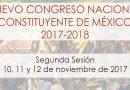 Segunda sesión del Nuevo Congreso Nacional Constituyente de México