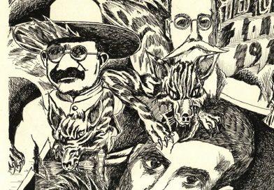 Los asesinos de Emiliano, caricatura de Eduardo Soto, revista El Metiche (Video)