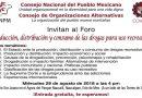 Foro: Producción, distribución y consumo de las drogas para uso recreativo