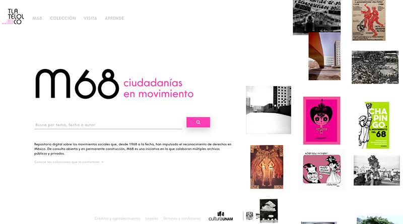 UNAM abre plataforma de información sobre M68 y contenidos feministas