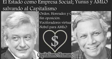 El Estado como Empresa Social; Yunus y AMLO salvando al Capitalismo