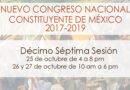 Décimo séptima sesión del Nuevo Congreso Nacional Constituyente de México