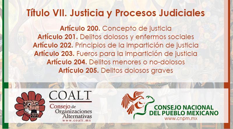 Sobre la Justicia y Procesos Judiciales