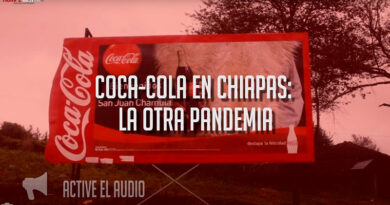 Coca-Cola en Chiapas: la otra pandemia (Video)