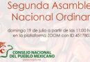 Convocatoria a la Segunda Asamblea Nacional Ordinaria del Consejo Nacional del Pueblo Mexicano