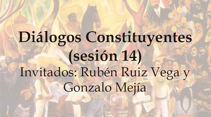 Diálogos Constituyentes – sesión 14 (Video)