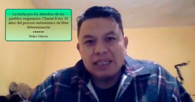 La lucha por los derechos de los pueblos originarios: Cherán K'eri, 10 años del proceso autonómico de libre determinación (Video)